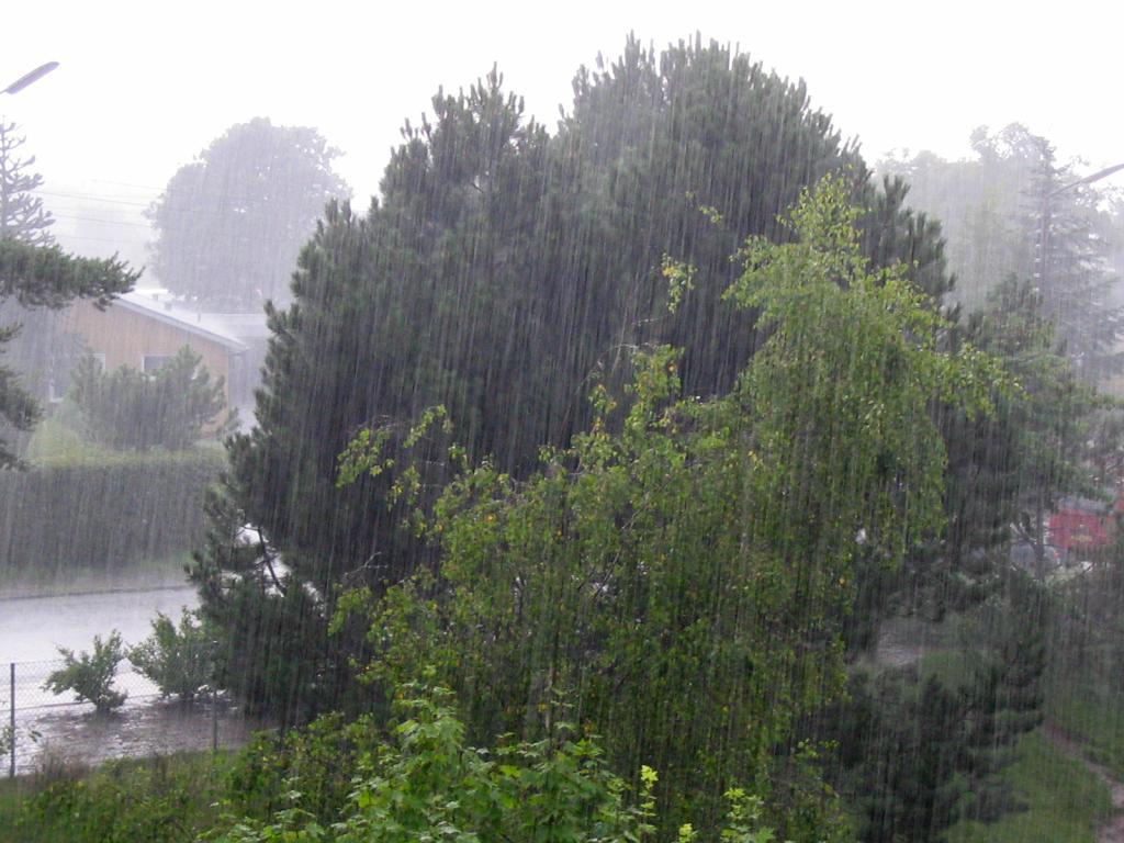Cenaos: Cuña de alta presión trae hoy lluvias y chubascos