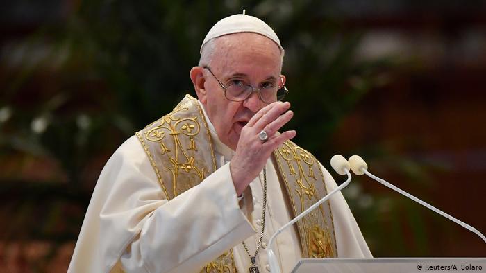 El Papa Francisco en su mensaje de Navidad, pide que todos tengan acceso a la vacuna