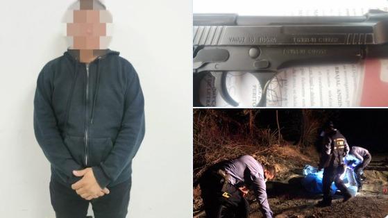 Detiene a funcionario policial como sospechoso de dar muerte a dos hermanas en el municipio de Reitoca, Francisco Morazán