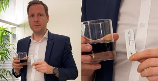 Austria: legislador realiza prueba rápida a vaso de Coca Cola y da positivo  por Covid-19 - STN HONDURAS