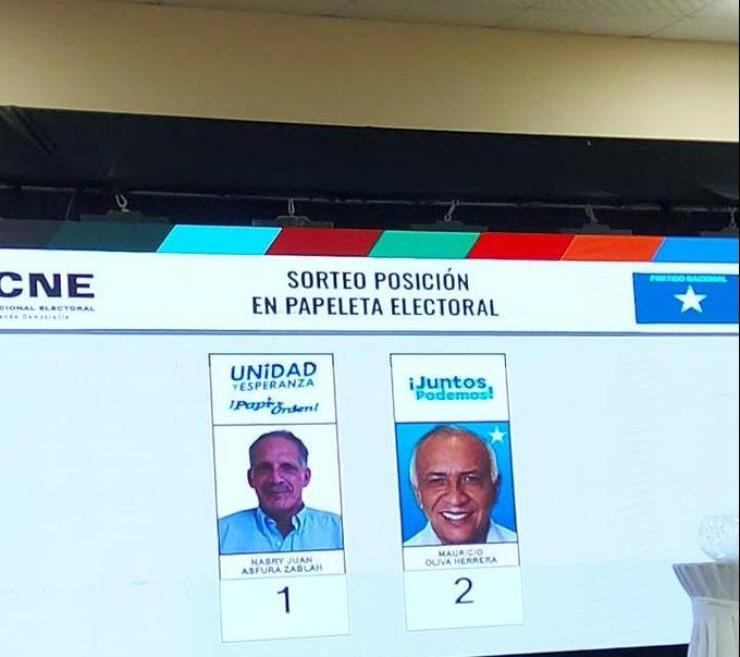 """""""Tito"""" Asfura encabezará papeleta nacionalista"""
