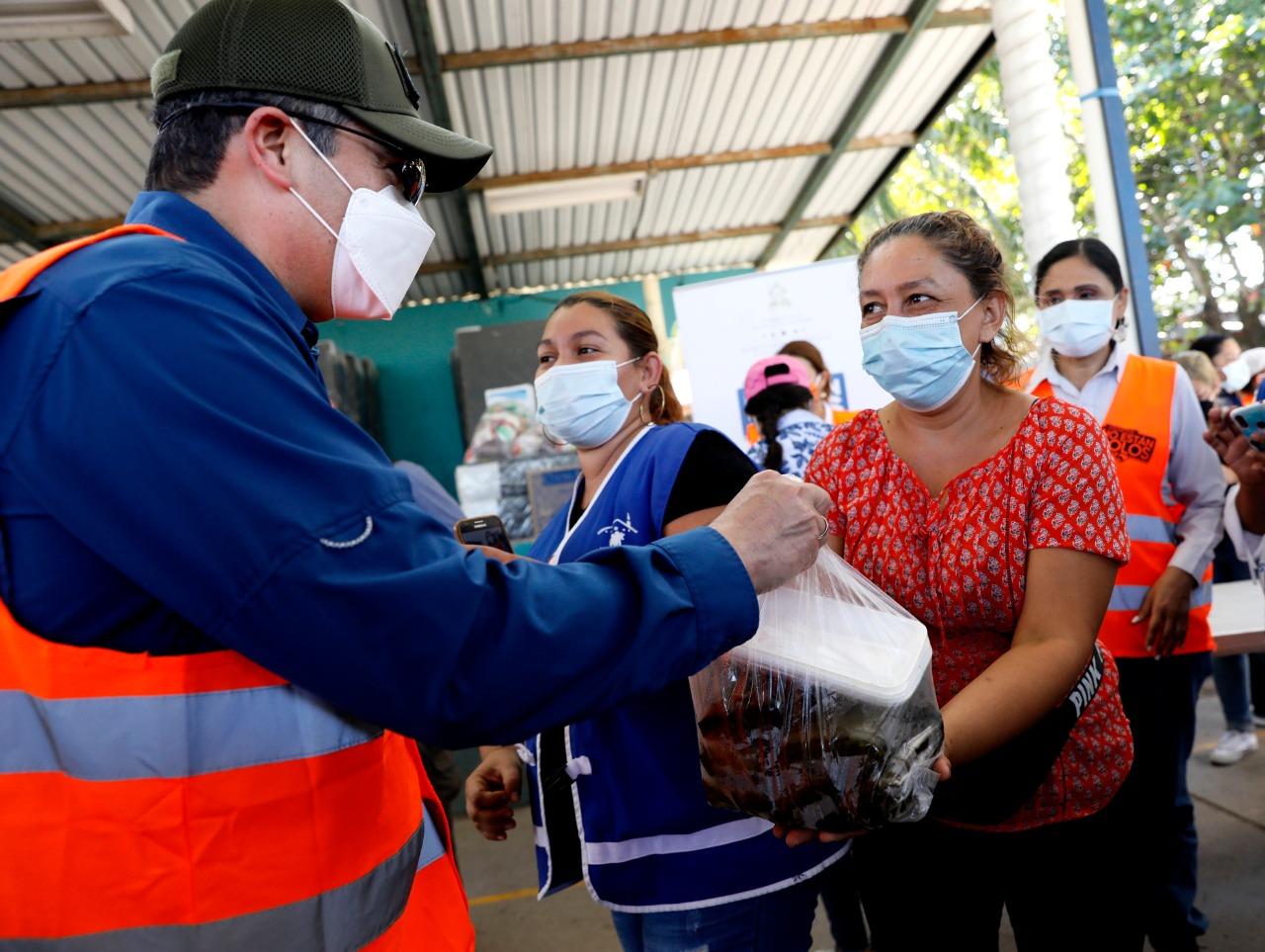 Gobierno terminará este jueves la entrega de 1.2 millones de nacatamales