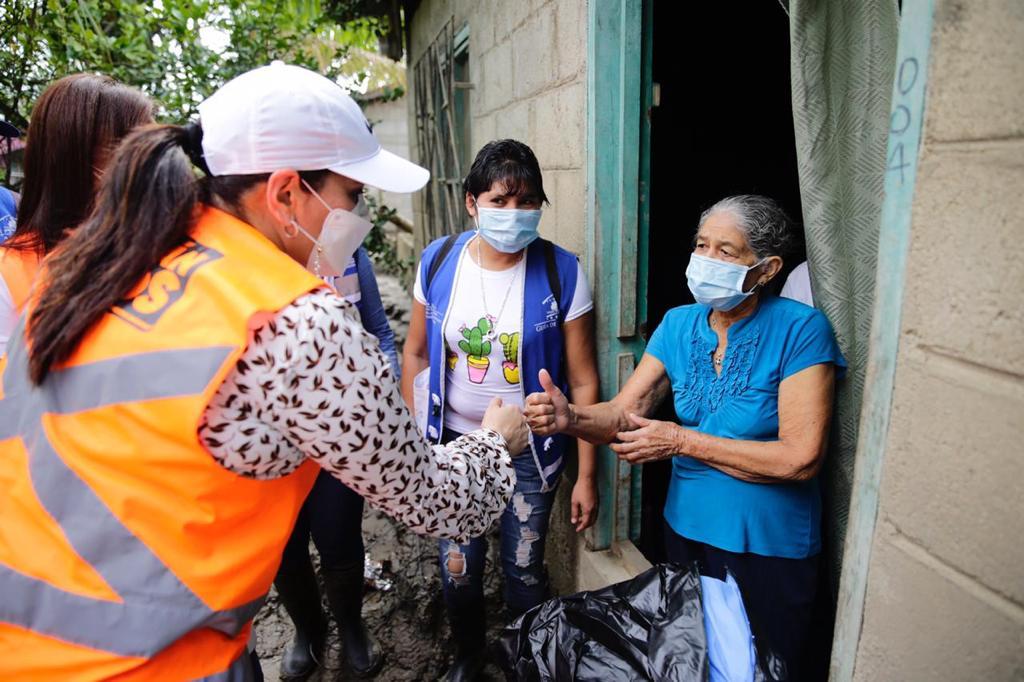 Operación No Están Solos: Más de 500 familias de El Negrito ,Yoro, reciben alimentos solidarios