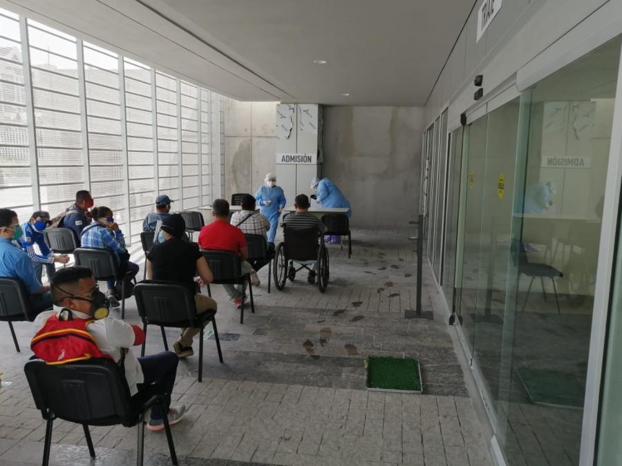 Gerente Olga  Dubón: «El polideportivo no tiene la capacidad para  atender  a pacientes con complicaciones»
