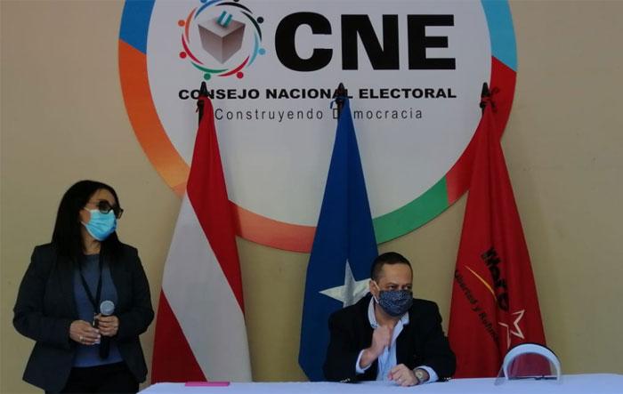 CNE:  Un total de 14 movimientos participarán en elecciones primarias