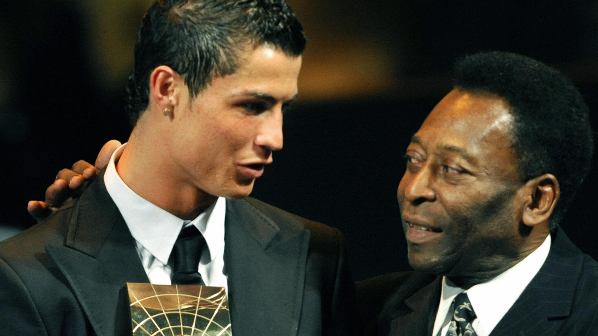 Cristiano Ronaldo esta a punto de igualar la marca de Pelé