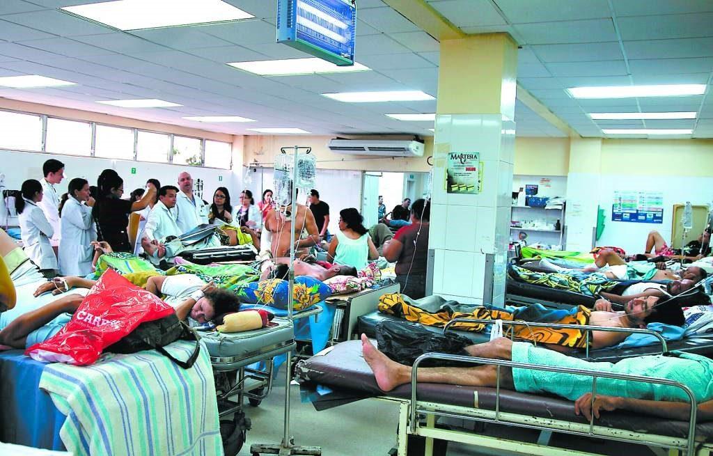 Harry Bock: Ocupación hospitalaria por Covid-19 es del 78%