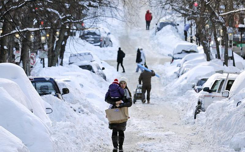 Tormenta invernal amenaza víspera de Año Nuevo en Estados Unidos