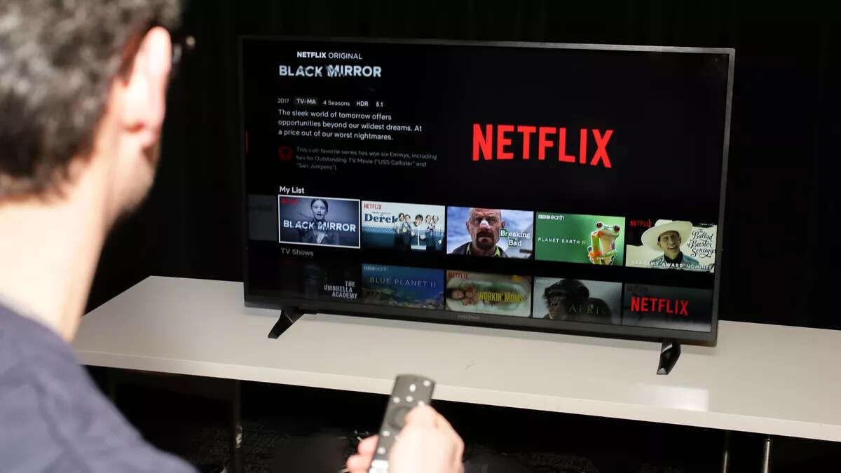 Netflix con programación como si fuera televisión tradicional!