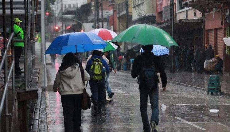 Para hoy  hay probabilidades de lluvias en casi todo el país