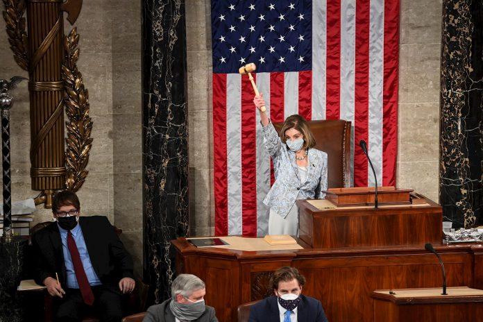 Nancy Pelosi es reelegida presidenta de la Cámara de Representantes de EE. UU.