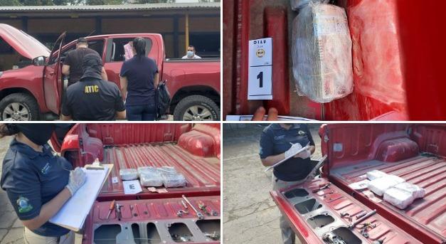 #ATIC incauta fuerte suma de dinero vinculado al tráfico de drogas en Tocoa