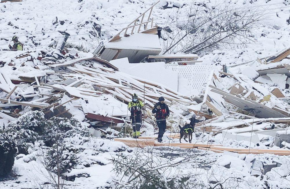 Alud de tierra en Noruega deja cuatro muertos y seis personas desaparecidas