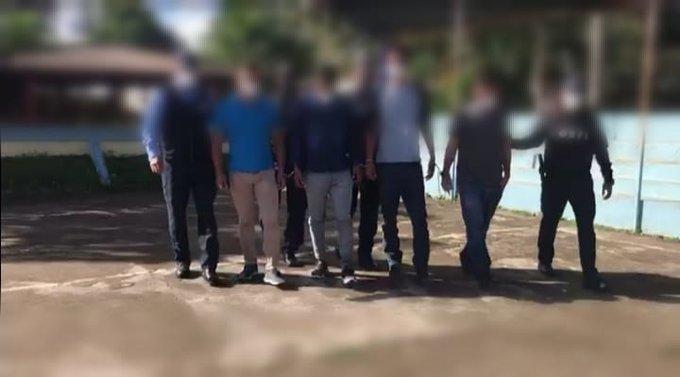 Detención Judicial a cuatro policías implicados en varios delitos