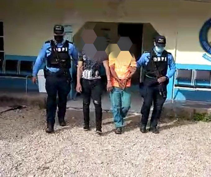 En Olancho resultaron capturados un padre y su hijo por haberle dado muerte a una persona durante pelea en estado de ebriedad