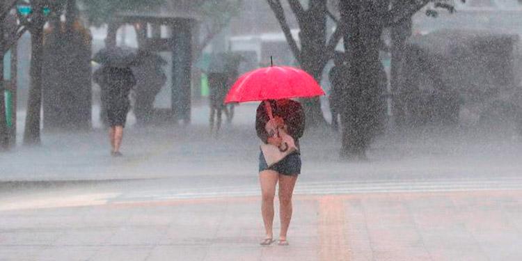 Hay probabilidades de lluvias débiles en gran parte del país