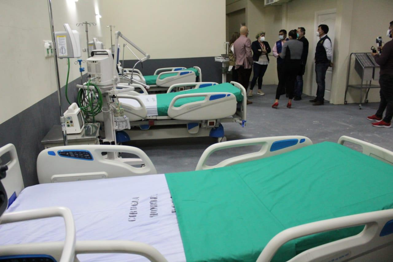 Próximo fin de semana se abrirá la sala UCI del Hospital San Felipe
