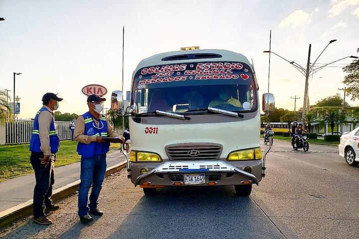 El último reporte del IHTT indica que 366 unidades ( 289 transporte se sancionaron y 19 decomisadas por faltas varias