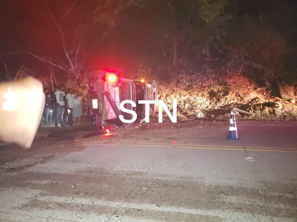«Papi a la orden» se encuentra bien tras sufrir accidente en la carretera del sur