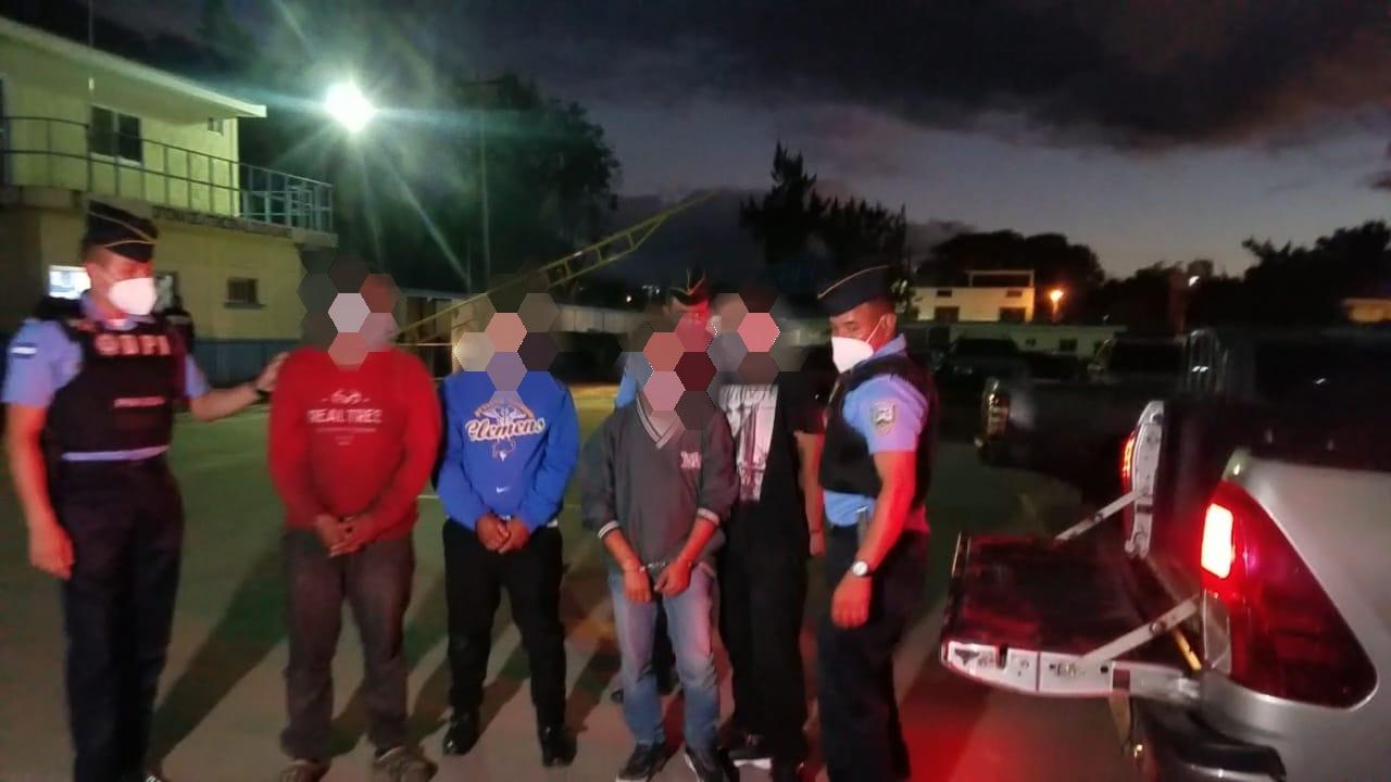 Detienen a siete supuestos integrantes de banda delictiva «El Margaro» en la capital