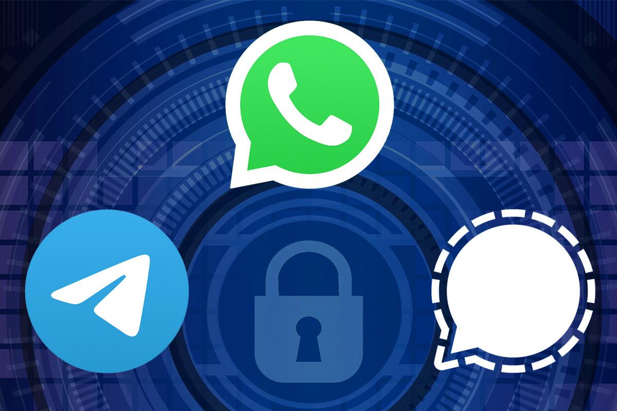 Signal, Telegram o WhatsApp? Ventajas y desventajas de cada aplicación.