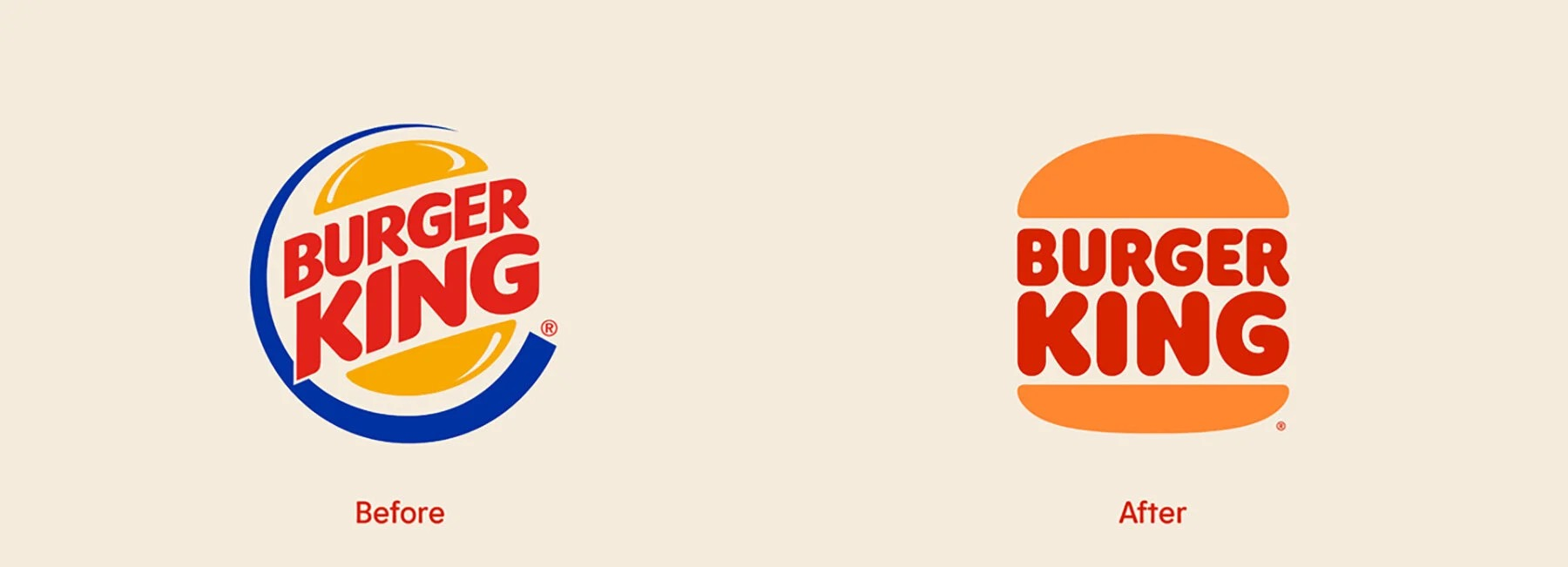El nuevo logo de Burger King, ¿te gusta?