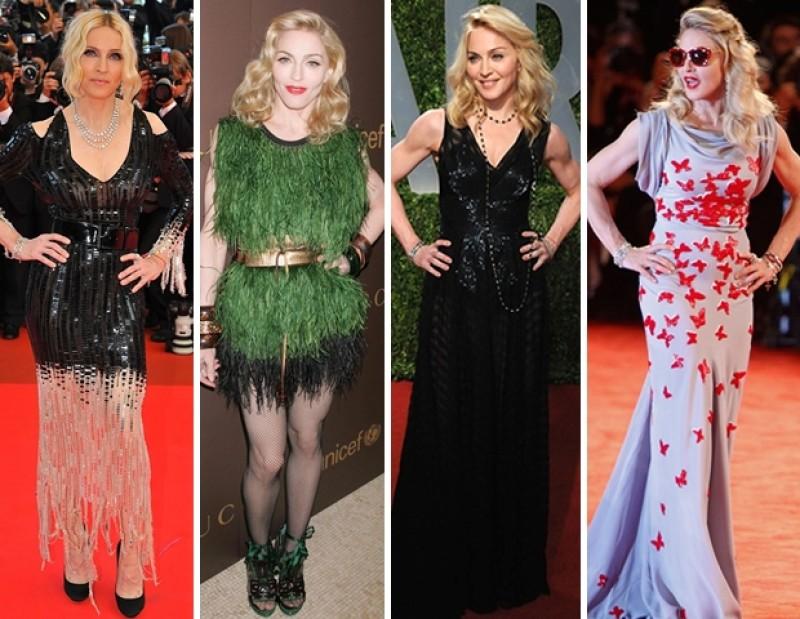 Los estilismos de Madonna a través de los años