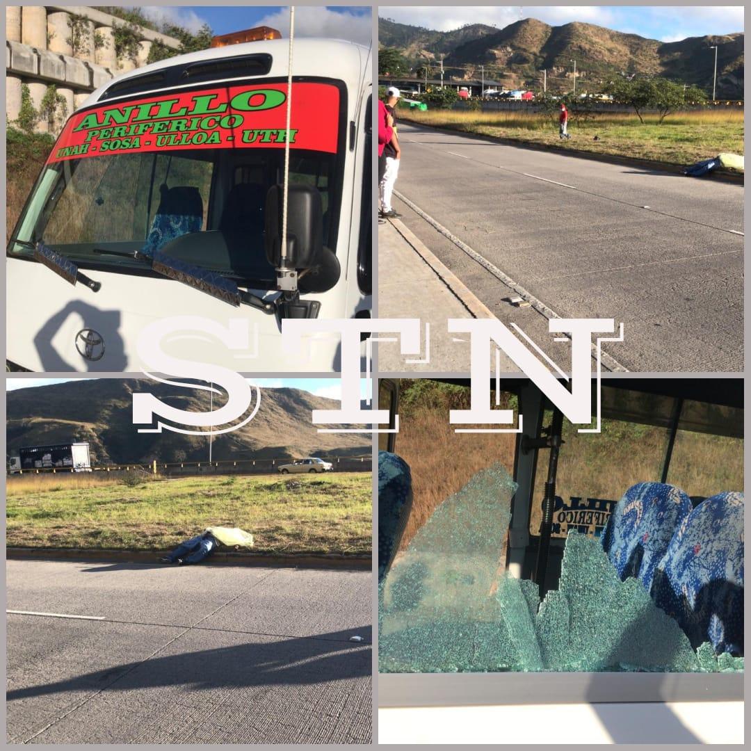 Acribillan a un conductor de bus «rapidito» en  la capital