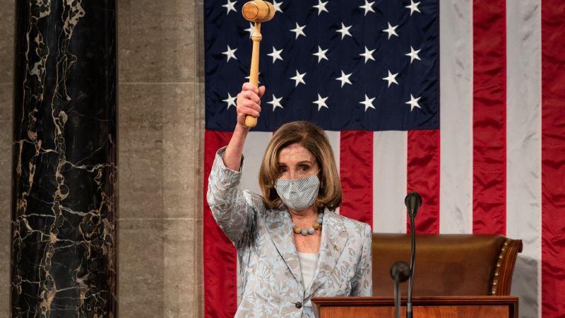 Nancy Pelosi pide al Ejército de EU restringir el acceso de Trump a los códigos nucleares