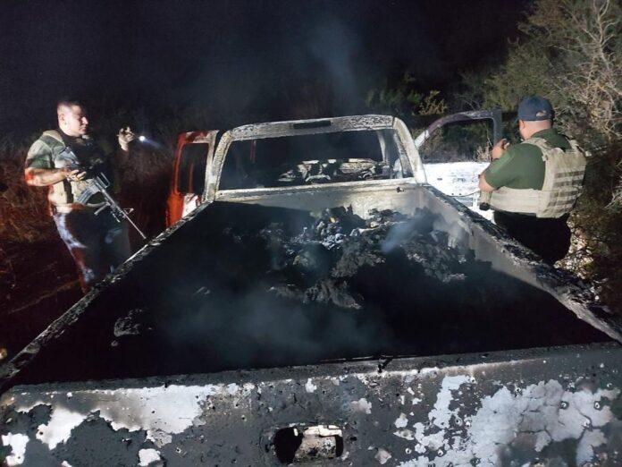 Encuentran 19 cuerpos calcinados en zona fronteriza entre México y EE. UU.