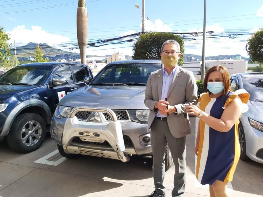 JICA realiza entrega de vehículos a SEDIS