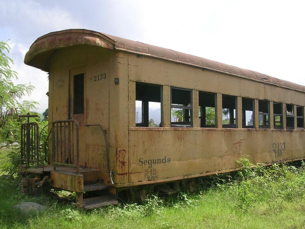 Sabia del Museo Ferroviario en El Progreso, Yoro