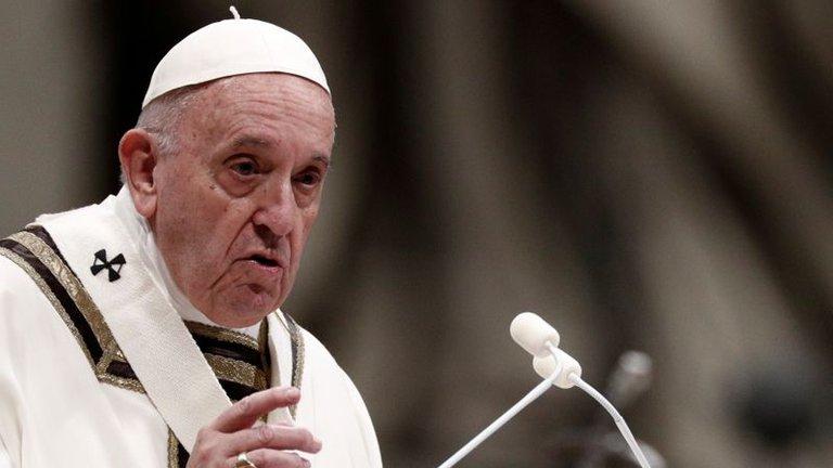Papa Francisco criticó a la gente que se va de vacaciones para evadir la cuarentena