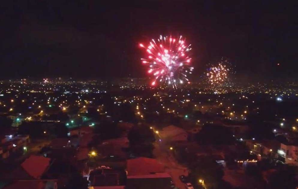 «Truena» la capital en la despedida del 2020 y bienvenida al 2021