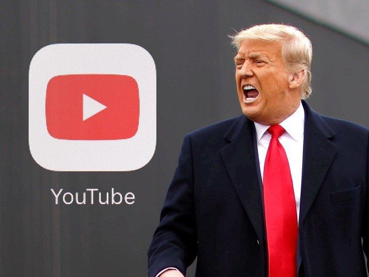 YouTube suspende el canal de Donald Trump