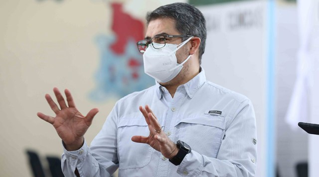 Presidente Hernández sanciona reforma para compra directa de vacuna contra la Covid-19