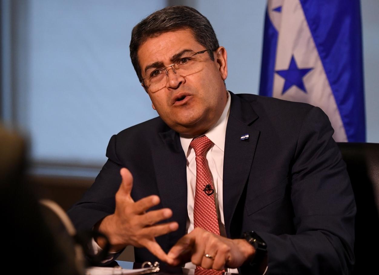 Agencia de noticias Reuters señala que Juan O. Hernández es investigado en EEUU