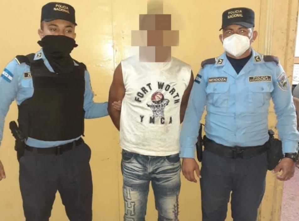 Sospechoso de violación en contra de una menor de 15 años es detenido en Talanga FM