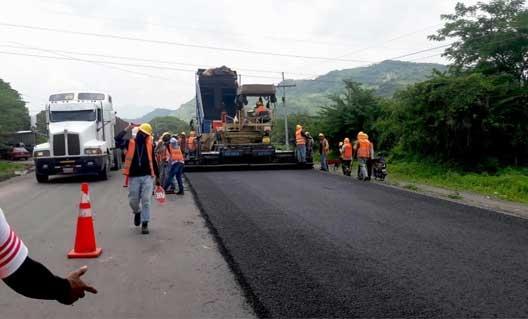 Ministro de INSEP:  L 140 millones invierten en reparación de red vial