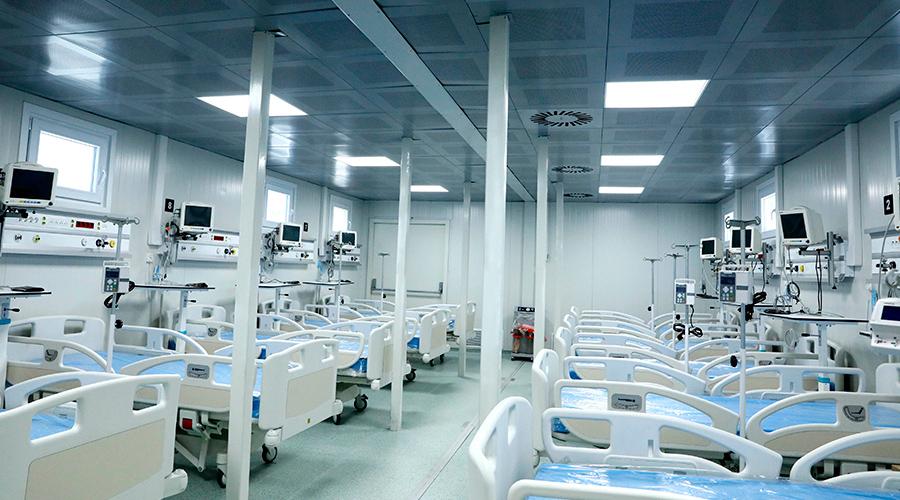 Desde octubre: Hospital Modular de SPS registra 892 atenciones
