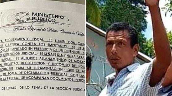 MP ejecuta allanamientos y capturas por el asesinato del dirigente tolupán José Adán Medina Rodríguez