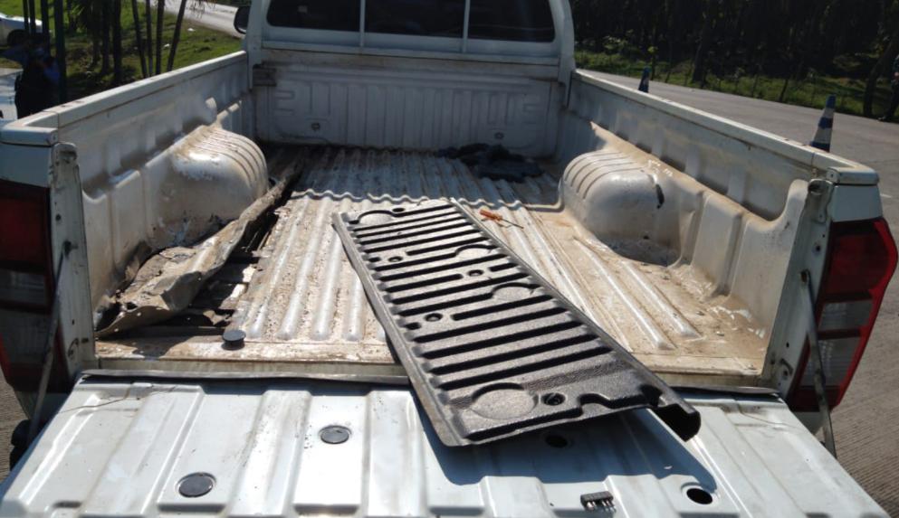 Encuentran supuesta droga en el interior de un vehículo en Colón
