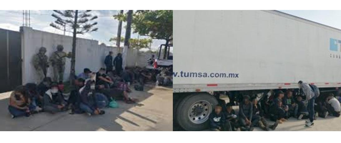 Unas 22 personas rescatadas en Méxicoserán repatriadas a Honduras