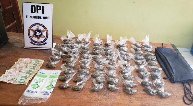 En posesión de marihuana agentes preventivos detienen a supuesto integrante de la Mara Salvatrucha, MS-13