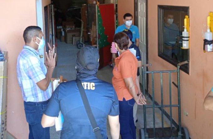 Fiscales Anticorrupción y Agentes de la #ATIC verifican estado de ventiladores mecánicos situados en el hospital Mario Catarino Rivas