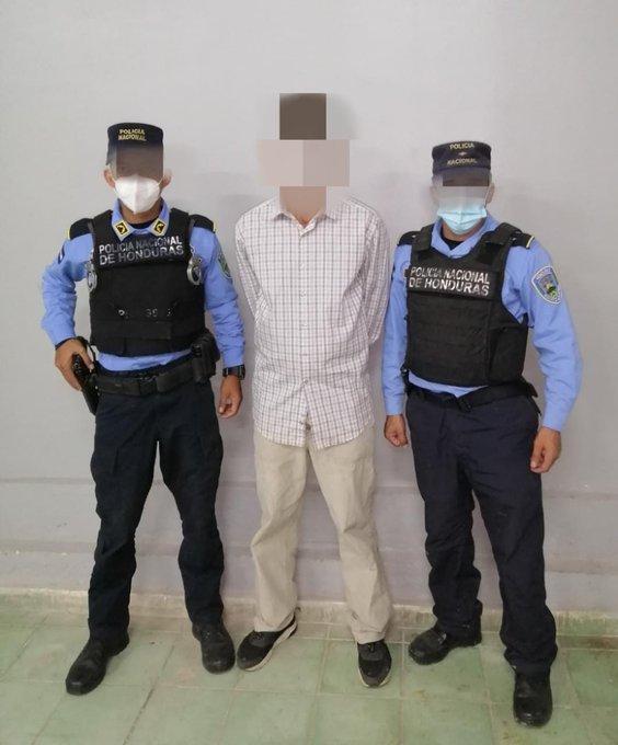 Prófugo de la justicia hondureña es detenido por el delito de violación especial y maltrato por transgresión