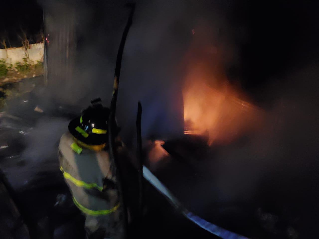 ¡Anciano de 75 años! muere calcinado  tras incendiarse su vivienda en La Rivera Hernández