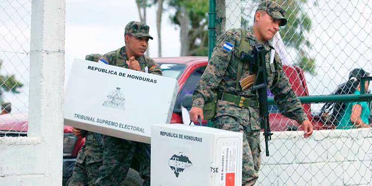 FFAA listas para custodiar material electoral