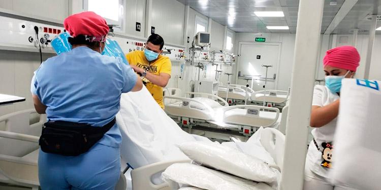 Hospital Modular de Tegucigalpa atiende 7 pacientes con COVID-19