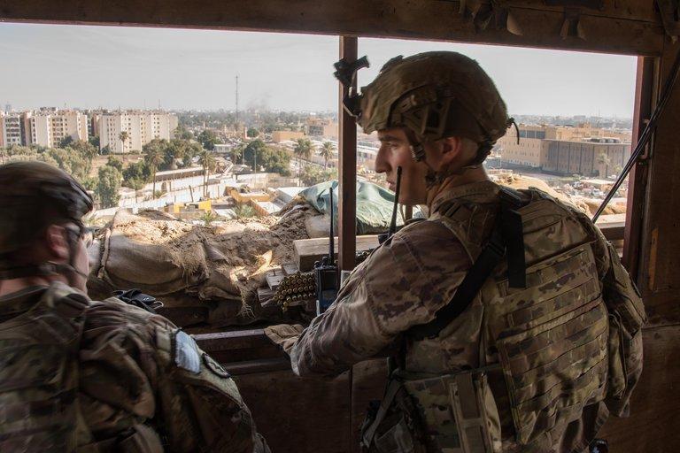Siria: Aviones de combate de EEUU bombardearon instalaciones de las milicias apoyadas por Irán